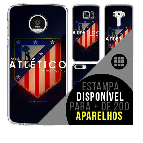 Capa de celular - Atlético de Madrid 4 [disponível para + de 200 aparelhos]
