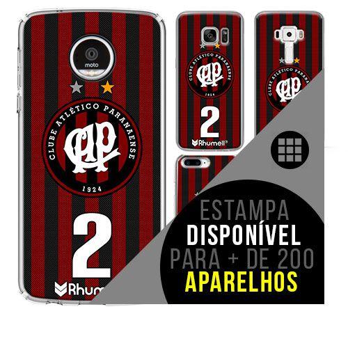 Capa de celular - Atlético-PR 2 [disponível para + de 200 aparelhos]