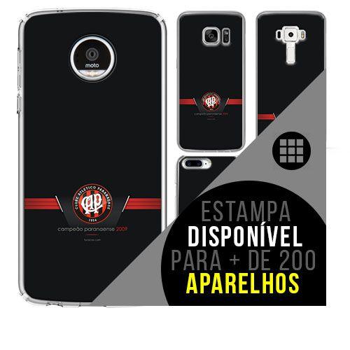 Capa de celular - Atlético-PR 3 [disponível para + de 200 aparelhos]