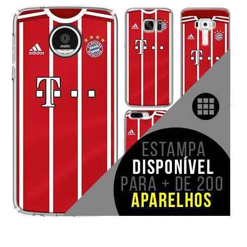 Capa de celular - Bayern de Munique 4 [disponível para + de 200 aparelhos]
