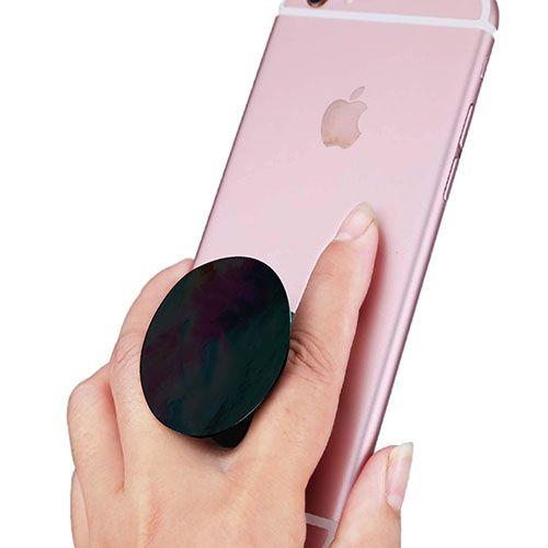 Pop Socket + Pop Clip Suporte para celular (PRETO)