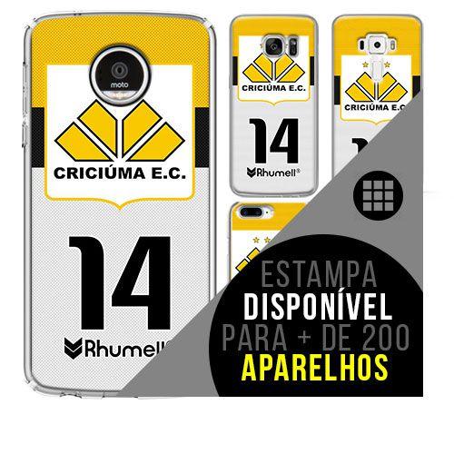 Capa de celular - Criciúma [disponível para + de 200 aparelhos]