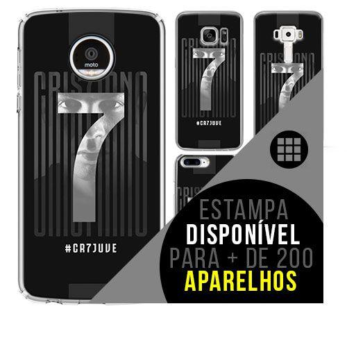 Capa de celular - Cristiano Ronaldo [disponível para + de 200 aparelhos]