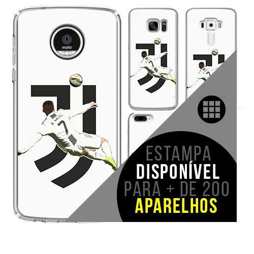 Capa de celular - Cristiano Ronaldo 2 Juve [disponível para + de 200 aparelhos]