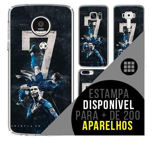 Capa de celular - Cristiano Ronaldo 6 [disponível para + de 200 aparelhos]