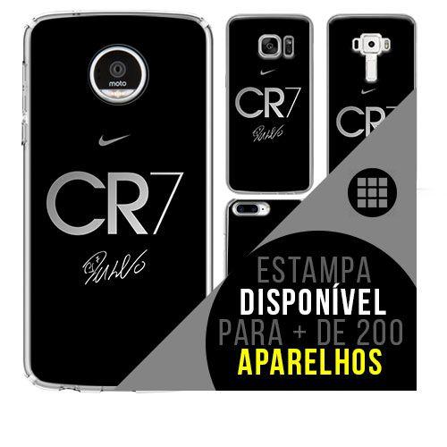 Capa de celular - Cristiano Ronaldo 7 [disponível para + de 200 aparelhos]