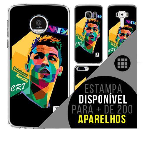 Capa de celular - Cristiano Ronaldo 8 [disponível para + de 200 aparelhos]
