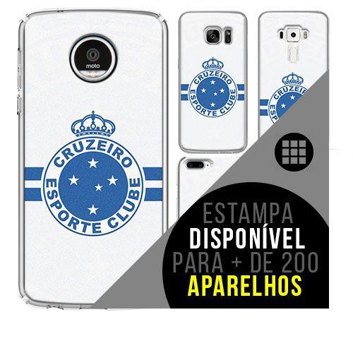 Capa de celular - Cruzeiro 8 [disponível para + de 200 aparelhos]