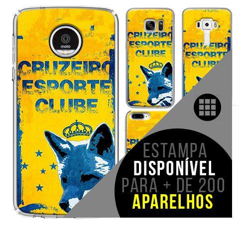 Capa de celular - Cruzeiro 11 [disponível para + de 200 aparelhos]