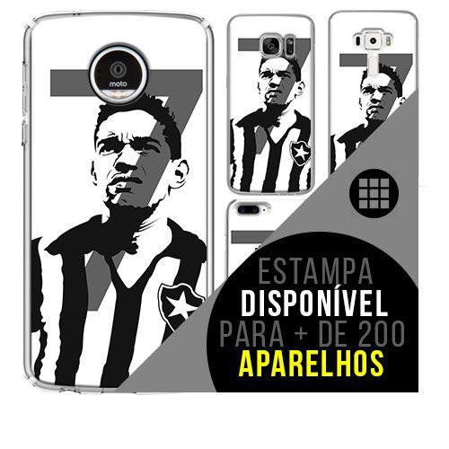 Capa de celular - Garrincha [disponível para + de 200 aparelhos]