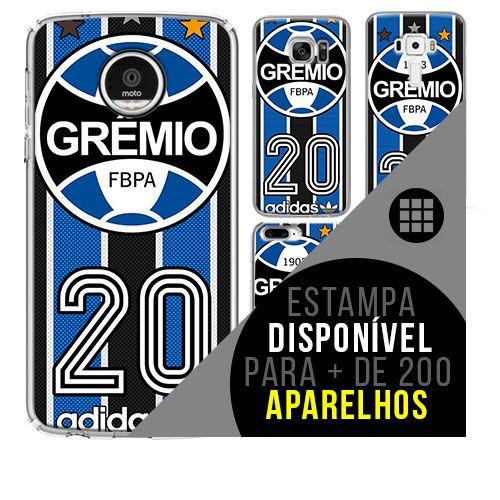Capa de celular - Grêmio 3 [disponível para + de 200 aparelhos]