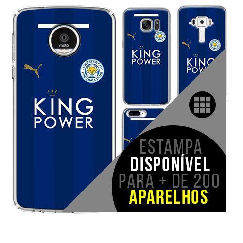 Capa de celular - Leicester City [disponível para + de 200 aparelhos]