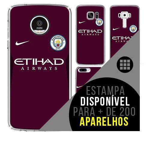 Capa de celular - Manchester City [disponível para + de 200 aparelhos]