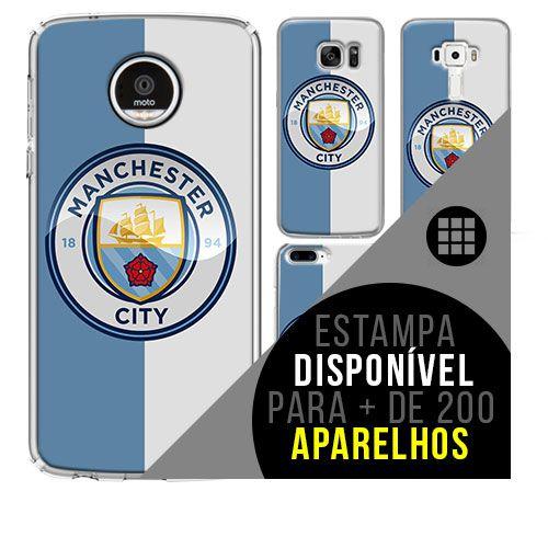Capa de celular - Manchester City 3 [disponível para + de 200 aparelhos]