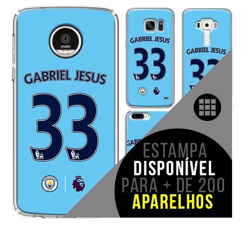 Capa de celular - Manchester City 5 [disponível para + de 200 aparelhos]