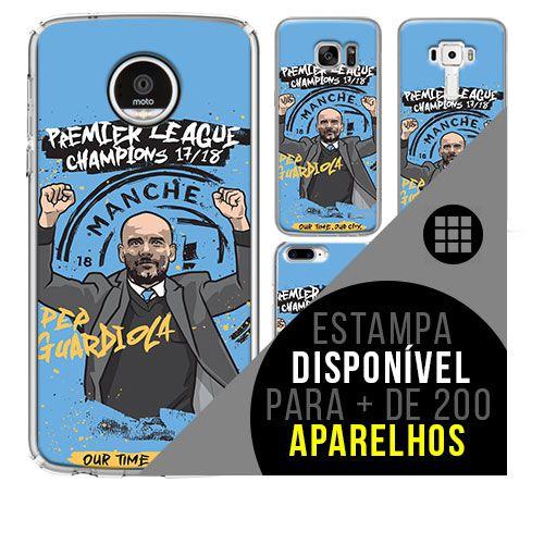 Capa de celular - Manchester City 7 [disponível para + de 200 aparelhos]