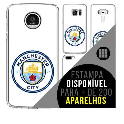 Capa de celular - Manchester City 8 [disponível para + de 200 aparelhos]