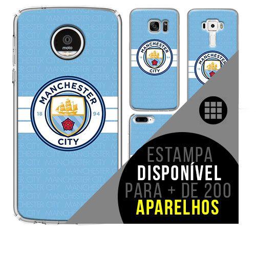Capa de celular - Manchester City 9 [disponível para + de 200 aparelhos]
