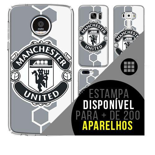 Capa de celular - Manchester United [disponível para + de 200 aparelhos]