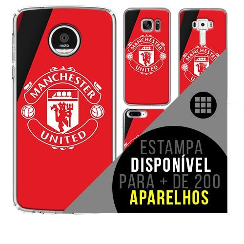 Capa de celular - Manchester United 2 [disponível para + de 200 aparelhos]