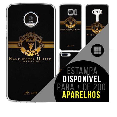 Capa de celular - Manchester United 3 [disponível para + de 200 aparelhos]