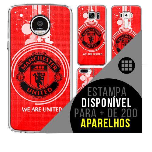 Capa de celular - Manchester United 5 [disponível para + de 200 aparelhos]