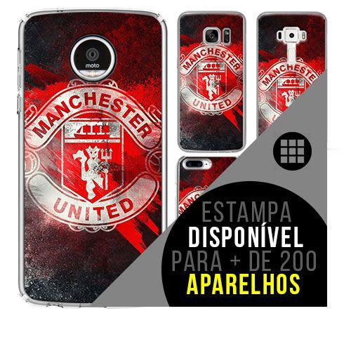 Capa de celular - Manchester United 8 [disponível para + de 200 aparelhos]