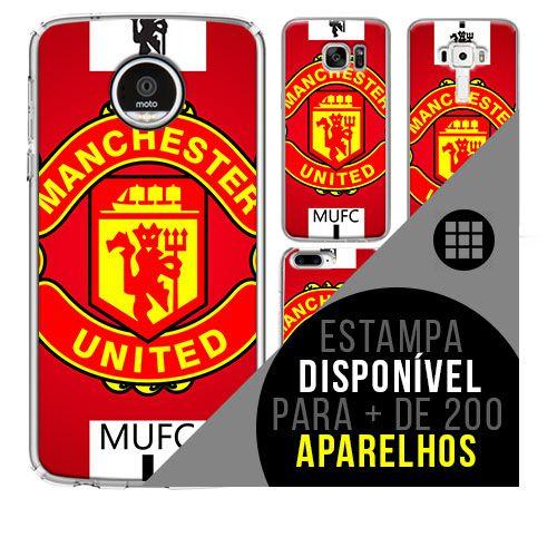 Capa de celular - Manchester United 9 [disponível para + de 200 aparelhos]