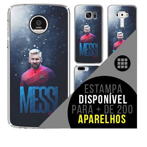 Capa de celular - Messi [disponível para + de 200 aparelhos]