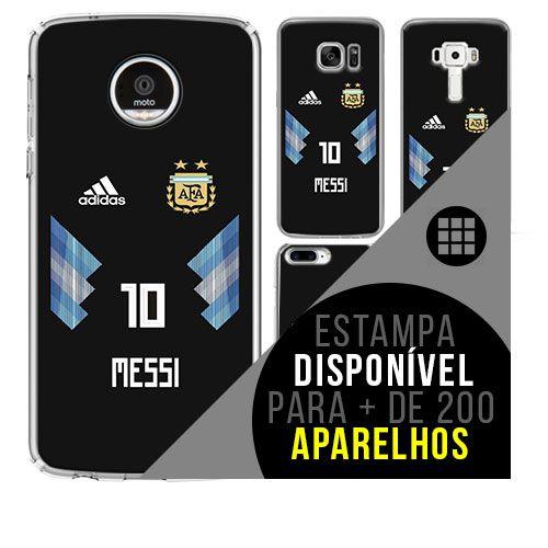 Capa de celular - Messi 3 [disponível para + de 200 aparelhos]