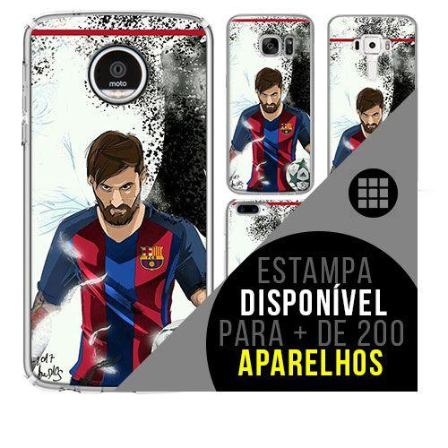 Capa de celular - Messi 5 [disponível para + de 200 aparelhos]