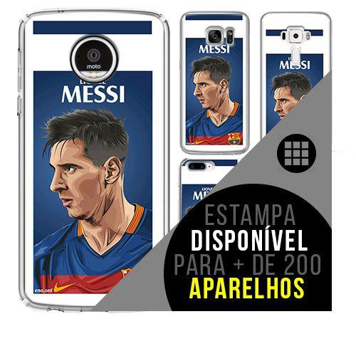 Capa de celular - Messi 8 [disponível para + de 200 aparelhos]