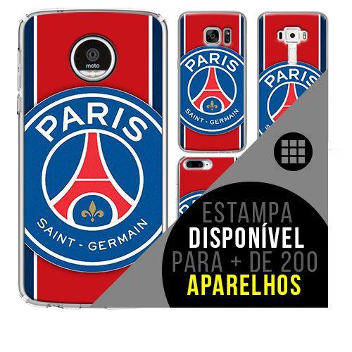 Capa de celular - Paris Saint-Germain [disponível para + de 200 aparelhos]