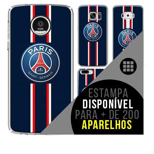 Capa de celular - Paris Saint-Germain 3 [disponível para + de 200 aparelhos]