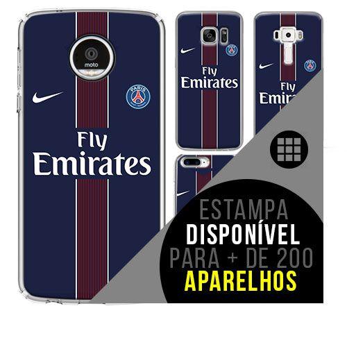 Capa de celular - Paris Saint-Germain 5 [disponível para + de 200 aparelhos]