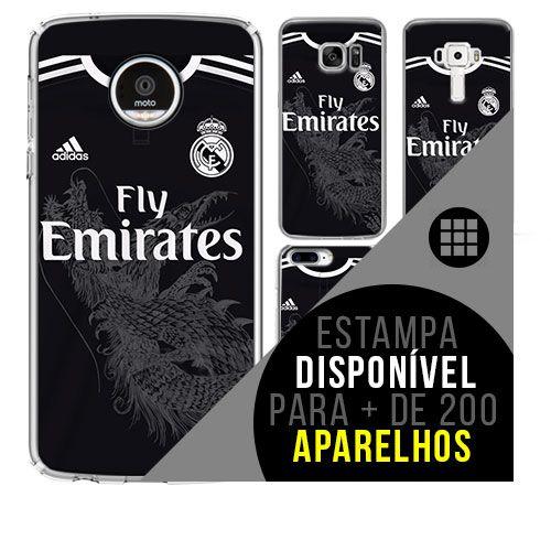 Capa de celular - Real Madrid 2 [disponível para + de 200 aparelhos]
