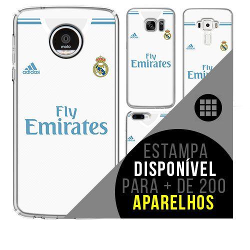 Capa de celular - Real Madrid [disponível para + de 200 aparelhos]
