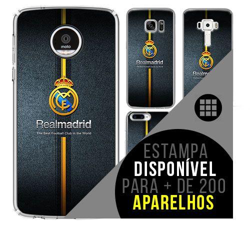 Capa de celular - Real Madrid 4 [disponível para + de 200 aparelhos]