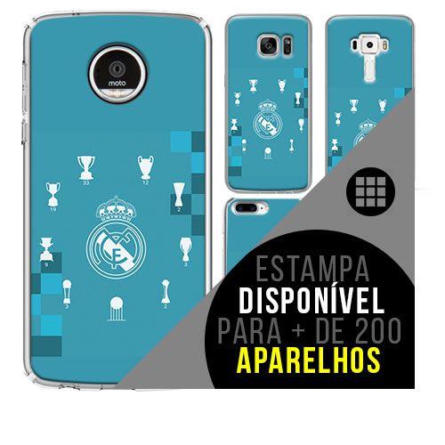 Capa de celular - Real Madrid 7 [disponível para + de 200 aparelhos]