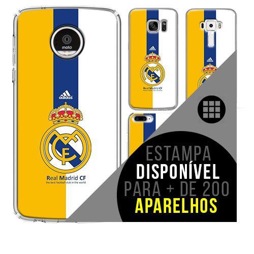 Capa de celular - Real Madrid 8 [disponível para + de 200 aparelhos]
