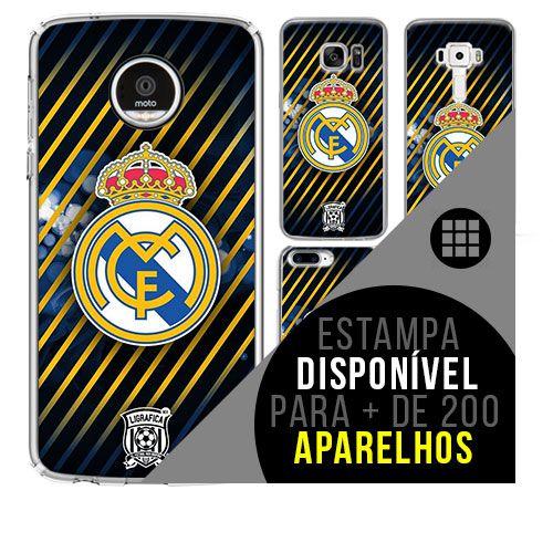 Capa de celular - Real Madrid 12 [disponível para + de 200 aparelhos]