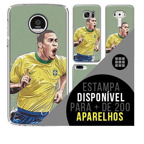 Capa de celular - Ronaldo 2 [disponível para + de 200 aparelhos]