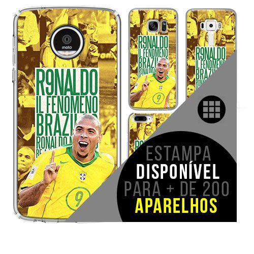 Capa de celular - Ronaldo 4 [disponível para + de 200 aparelhos]