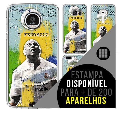Capa de celular - Ronaldo R9 [disponível para + de 200 aparelhos]