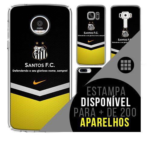 Capa de celular - Santos 4 [disponível para + de 200 aparelhos]