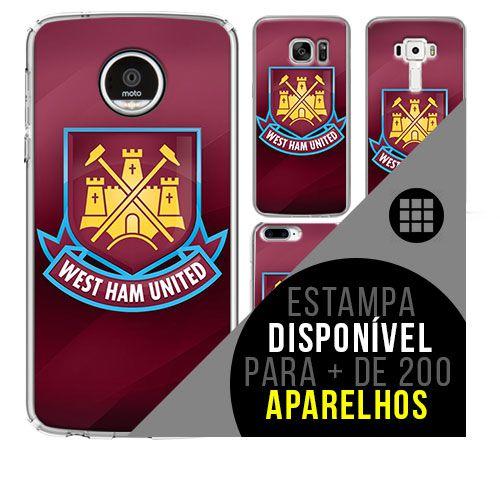 Capa de celular - West Ham United [disponível para + de 200 aparelhos]