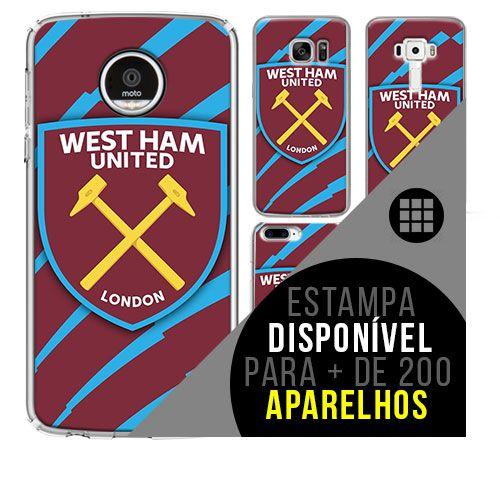 Capa de celular - West Ham United 3 [disponível para + de 200 aparelhos]