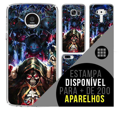 Capa de celular - Overlord [disponível para + de 200 aparelhos]