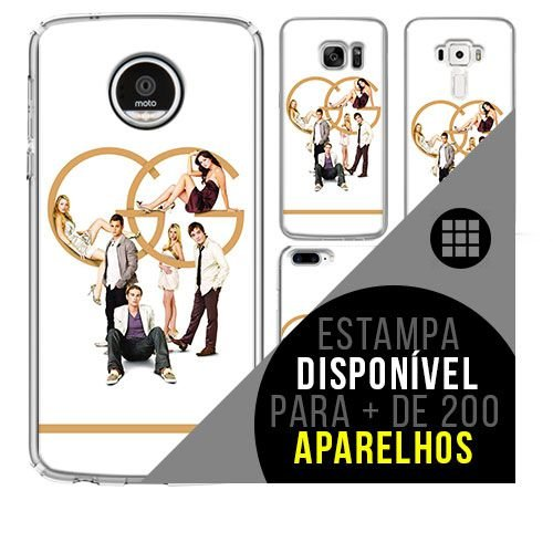 Capa de celular - gossip girl 4 [disponível para + de 200 aparelhos]