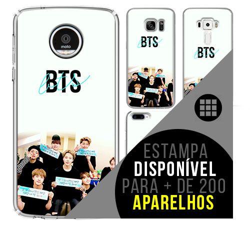 Capa de celular - BTS (Bangtan Boys) 14 [disponível para + de 200 aparelhos]